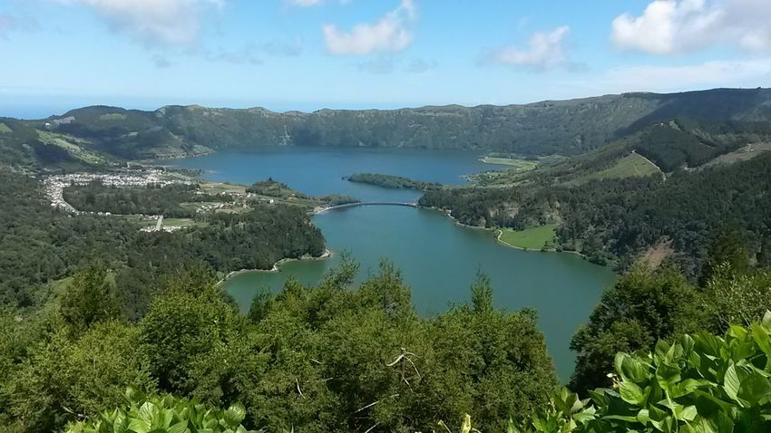 Landscape No People Beauty In Nature Nature Caldera Lagoa 7 Cidades Island Portugal Azores Outdoors Country Azores Islands