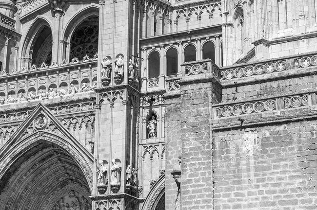 Fortheloveofblackandwhite Blackandwhite Architecture Cathedral Toledo España SPAIN