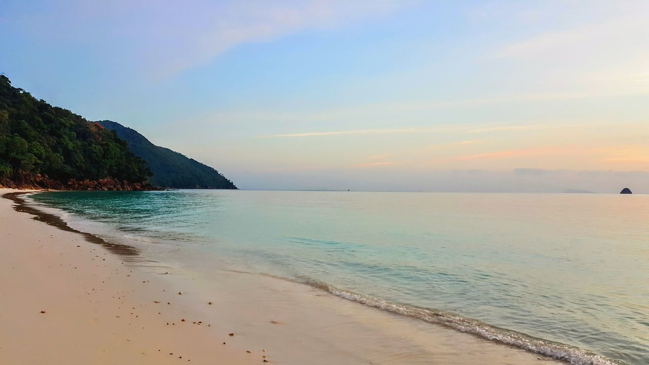 Dusk time in the Mergui Archipelago Sea Beach Blue Landscape Sand Beauty In Nature Scenics Idyllic Travel Destinations Outdoors Rock - Object Horizon Over Water Water Nature Serenity Myanmar Burma Mergui Mergui Archipelago Travel Photography Sunset Tranquility Today's Hot Look Serene Outdoors Todays Hot Look The Great Outdoors - 2017 EyeEm Awards Neighborhood Map