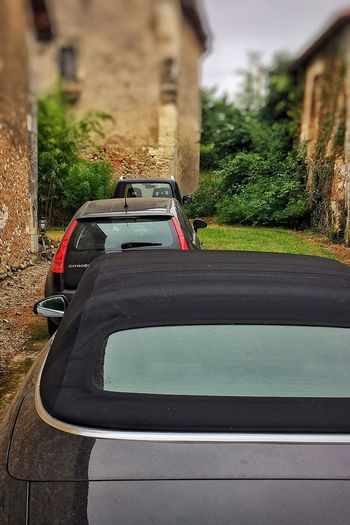 It looks like a Parking Lot by the side of my House with a Collection of Black Black Cars 😚 in order from Back To Front Suzuki Suzuki Jimny Citroen Citroën C4 Audi Audi A3 Convertible