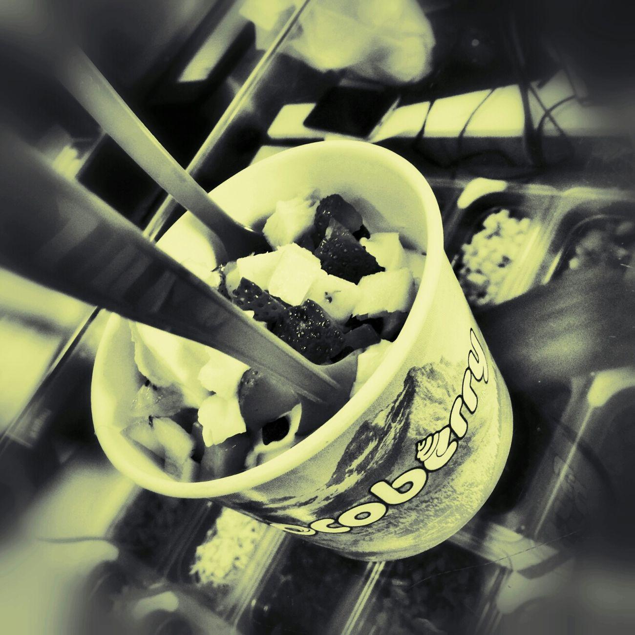Cocoberry frozen yogert
