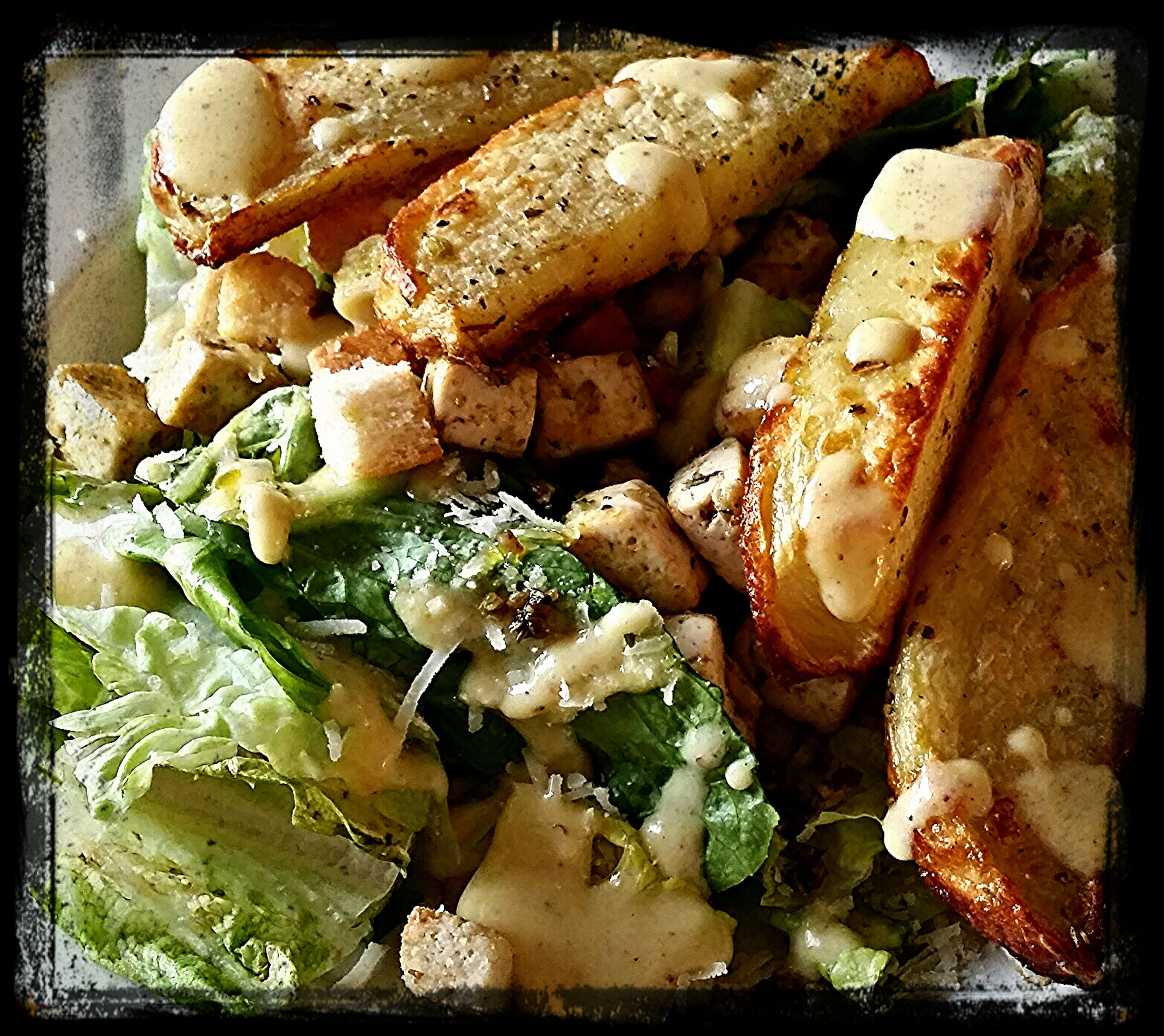 Vegetarian caesar sallad... Cleaneating Vegitarian Vegitarian Sallad Sallad