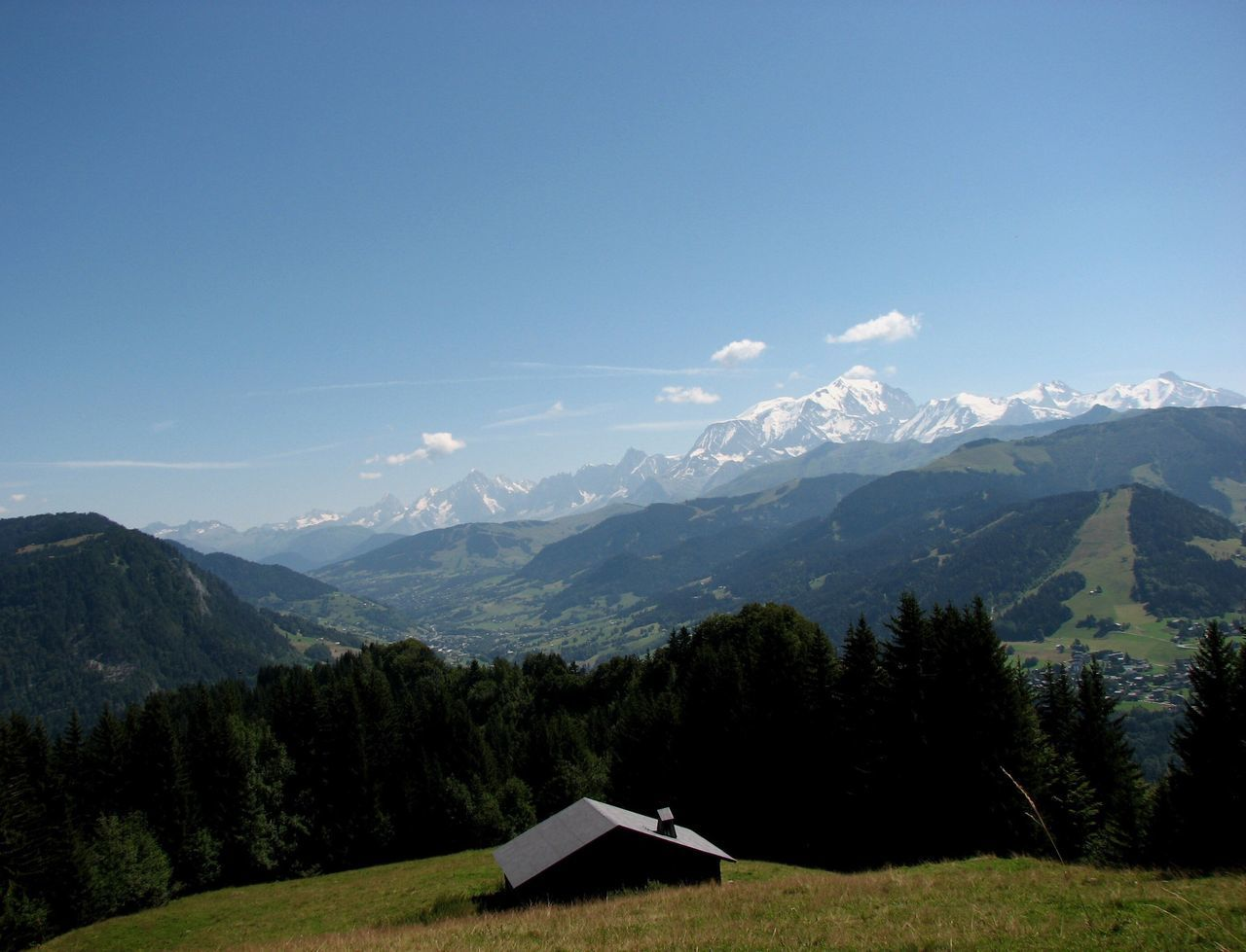 Montagne Mont Blanc Beauty In Nature Chalet