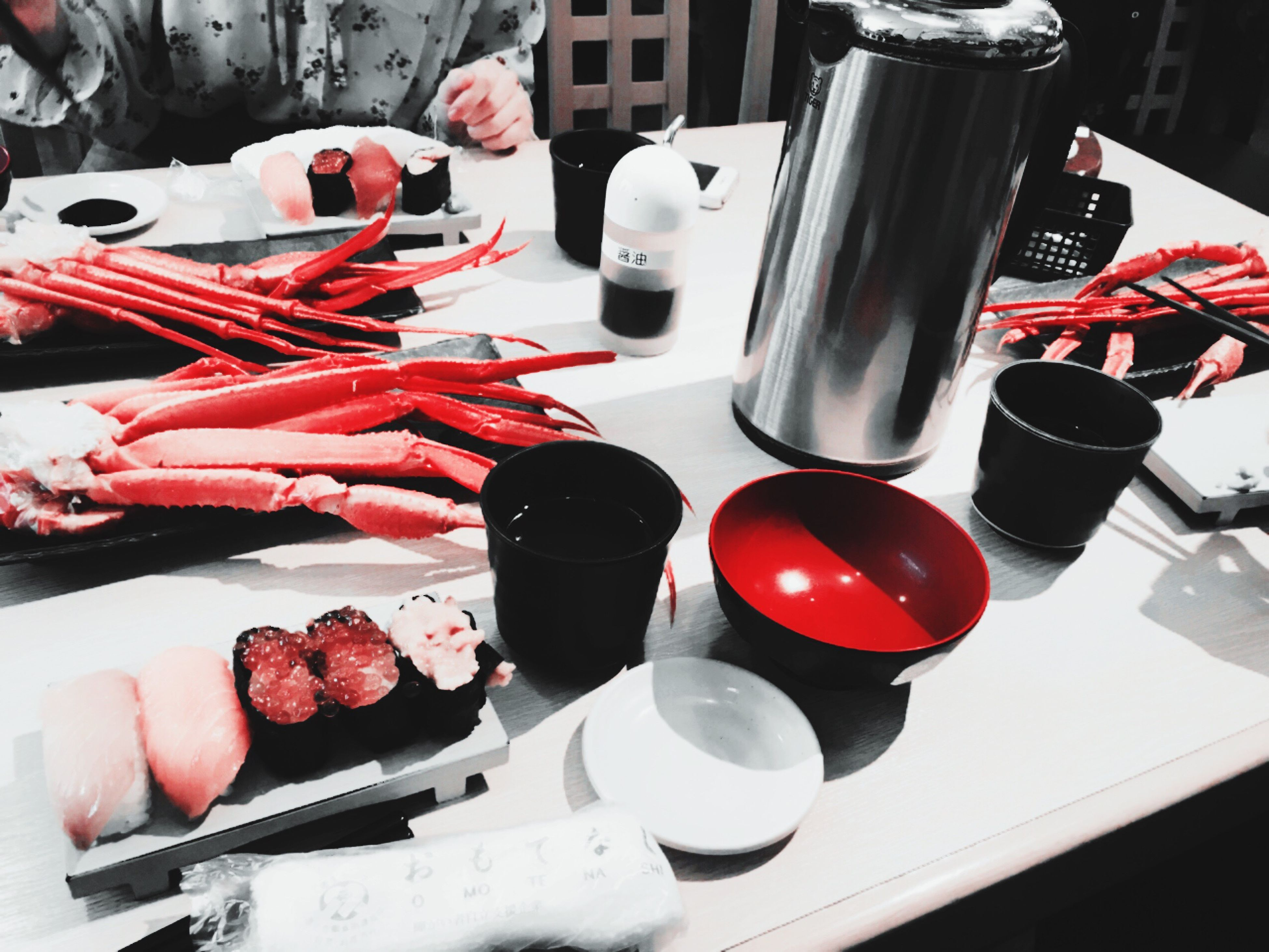 red, table, high angle view, food and drink, indoors, no people, drink, food, close-up, freshness, day