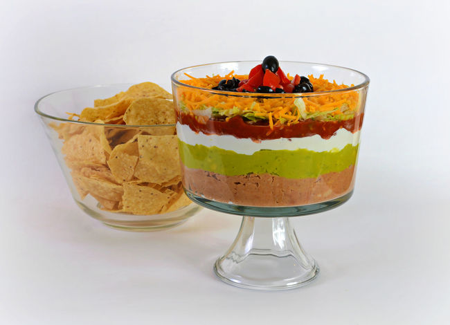 Cheese! Chips Chips And Dip Food Food And Drink Food To Share Freshness Guacamole Horizontal Layering Layers Layers And Colors Layers And Textures No People Party Food Ready-to-eat Salsa ShareTheMeal Tortilla Tortillachips White Background