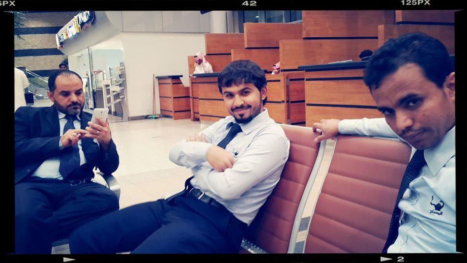 أصدقاء العمل... . Airport