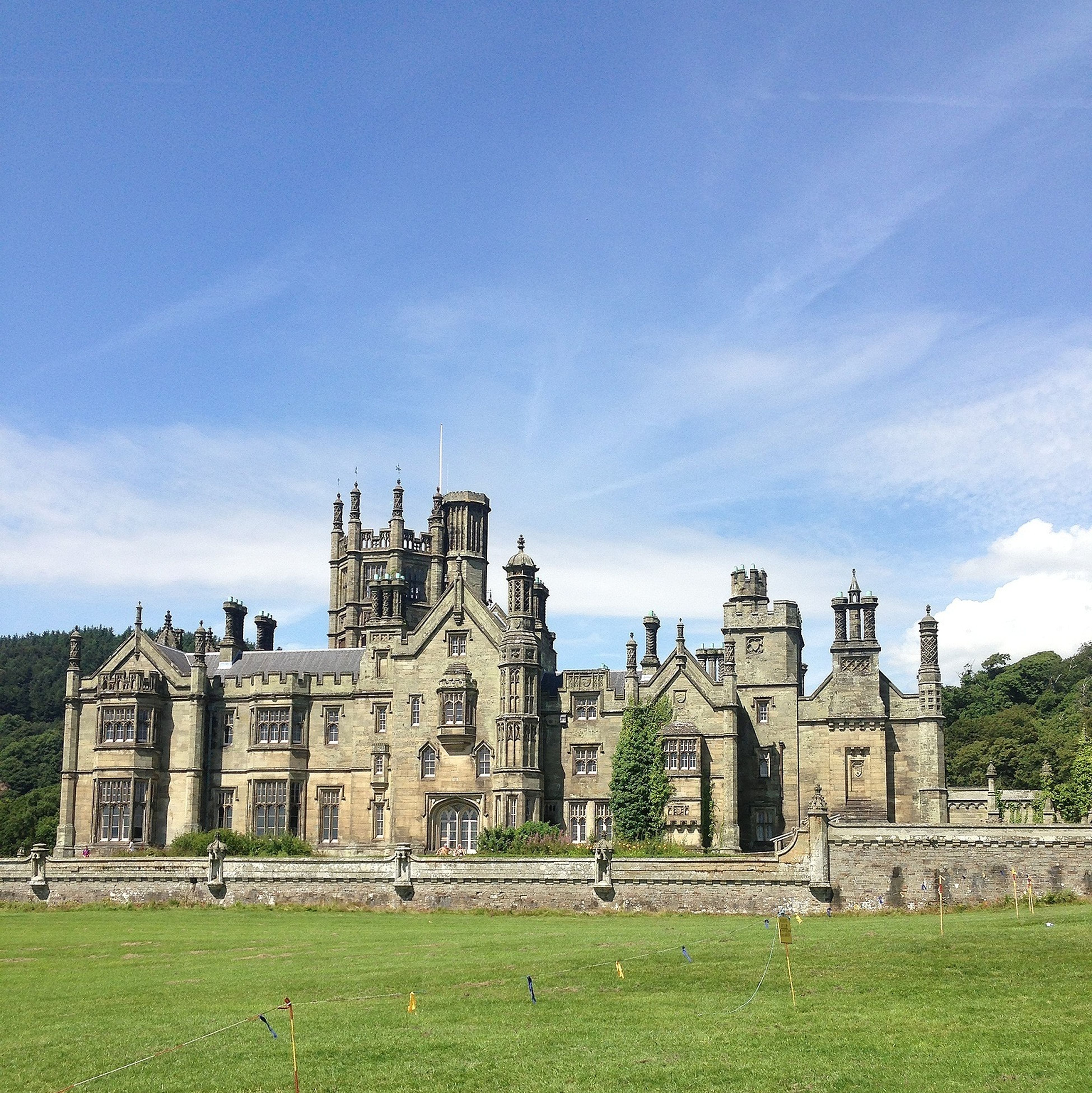 My office for the week! Margam Park Office View