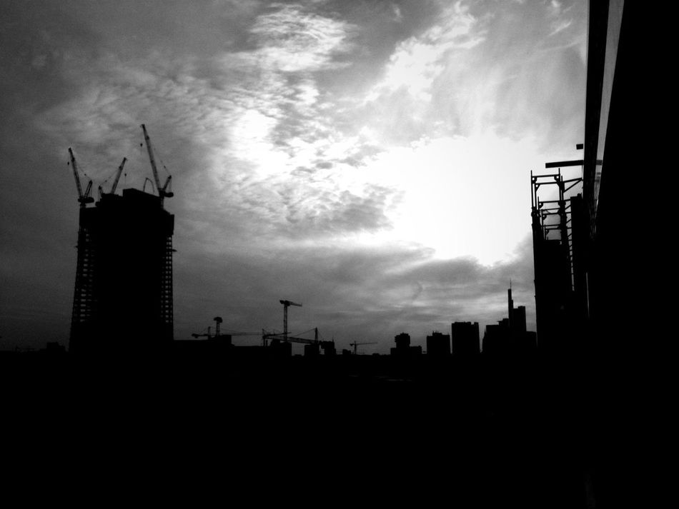 Skyline at B & B Hotel Frankfurt City-Ost Skyline