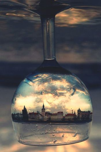 is it me or the world thats crazy? Things In A Glass Crazy World
