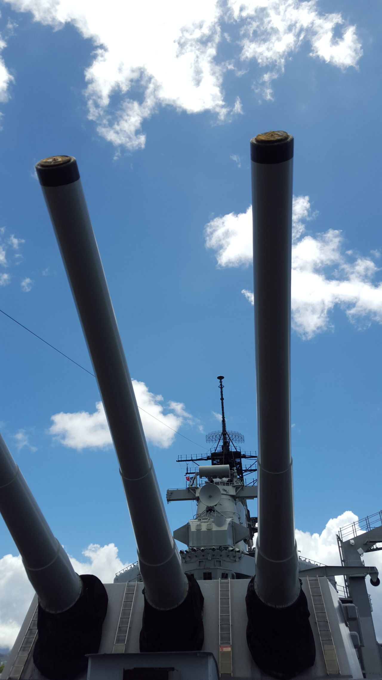 Cloud - Sky Day Hawii Industry No People Outdoors Pipe - Tube Sky Uss Arizona Weapon