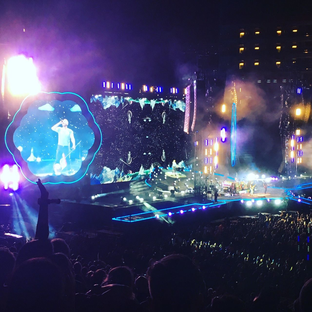 Coldplay Coldplay Concert  COLDPLAY ♥ Illuminated Performance AHFODtour 2016 Levi's Stadium San Francisco Music Brings Us Together