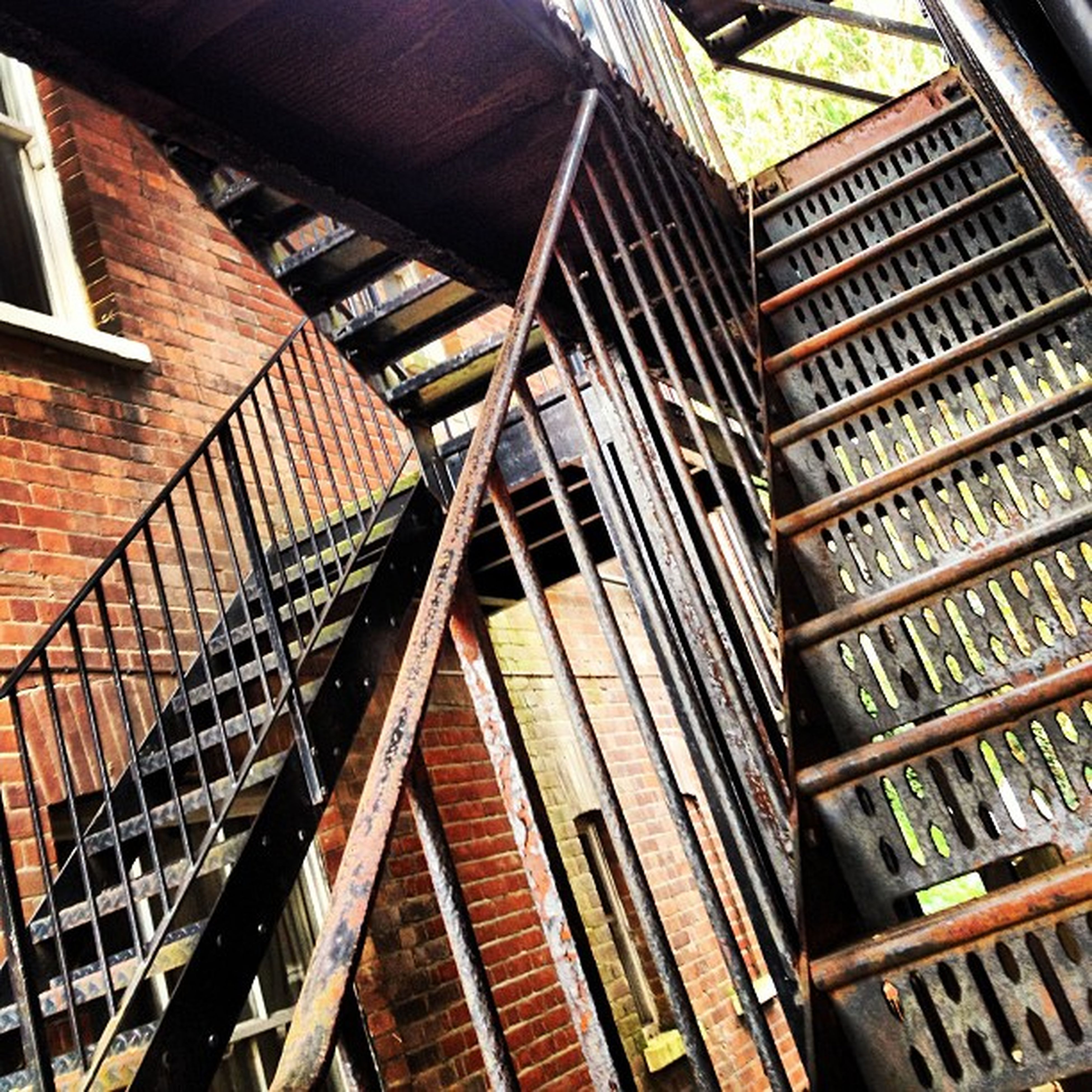 no people, architecture, staircase, built structure, day, outdoors