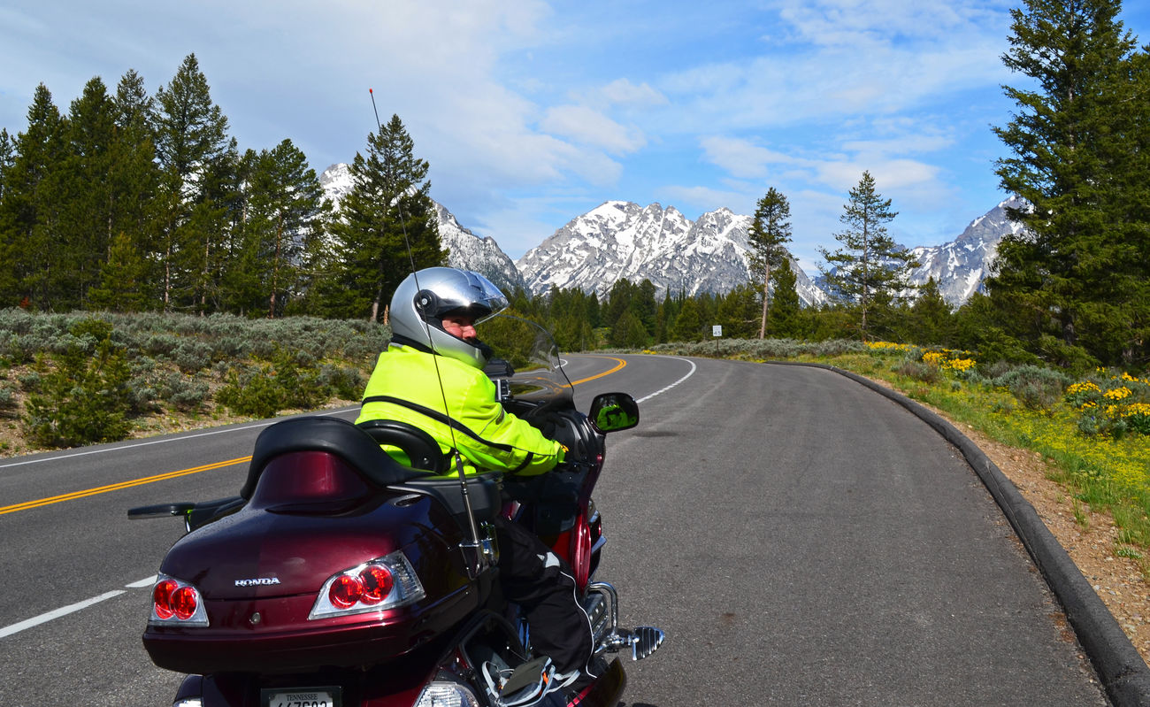 Goldwing Relaxing Enjoying Life EyeEmBestPics Mountain View Grandtetons Wyoming EyeEmbestshots EyeEm Nature Lover