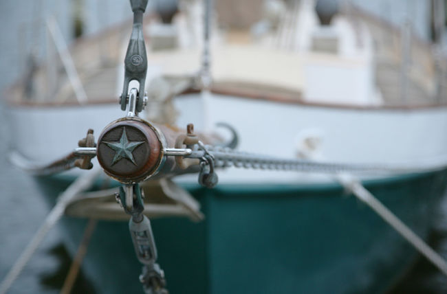 Bowsprit Focus On Foreground No People Sailboat Selective Focus Star