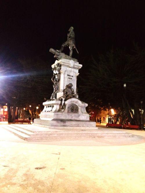 Plaza de armas Puq Magallanes  Plaza