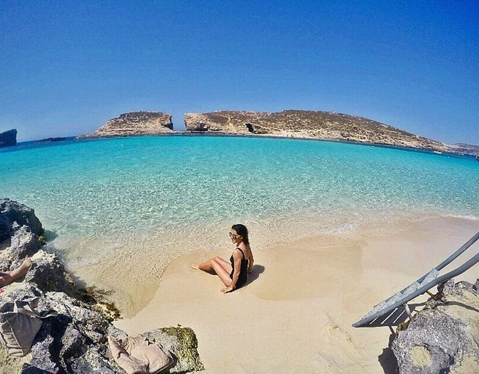 How far is heaven ? It's not very far 😏💙 Dicle30oldu Malta Sea Nature Bestoftheday Gopro Beach Beachlife Summer Best  Traveling Travelphotography Picoftheday Gopro Askileyap Diclemreontheway