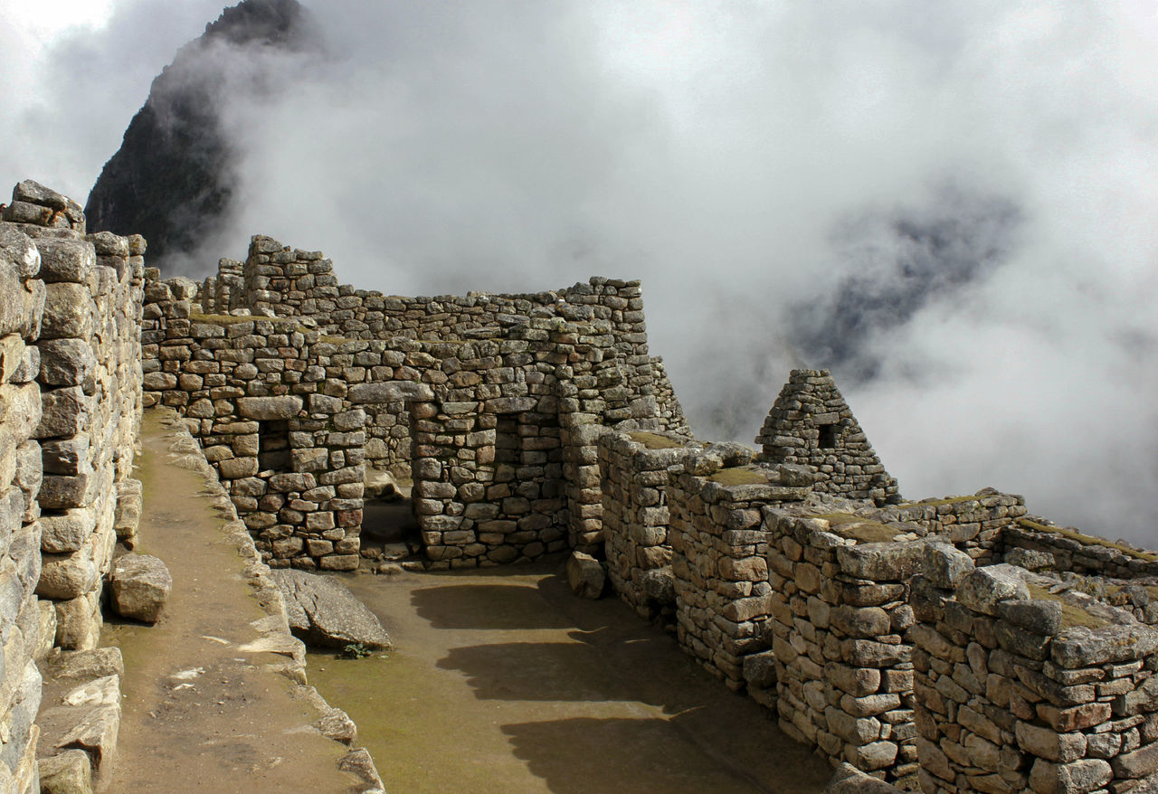 Machu Picchu - Incas Civilization Ancient Civilization Architecture Architecture Arquitecture Clouds Day Green Historical Building History Landscape Large Group Of Objects Machu Picchu Mountain No People Outdoors Peru Rocks Sky South America Tourism Travel