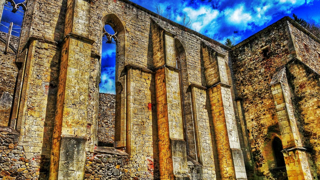Ruins Architecture Old Monastery Gothic Zicka Kartuzija Historical Building History Architecture