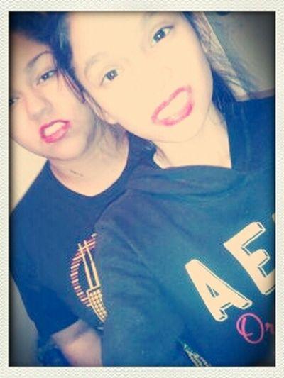 Sister&I yesterdaay.