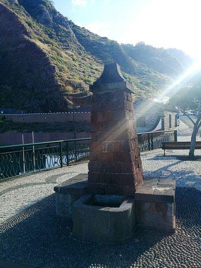 Fointain Sunny Day Madeira Island Alone Time Fazosteusmomentos