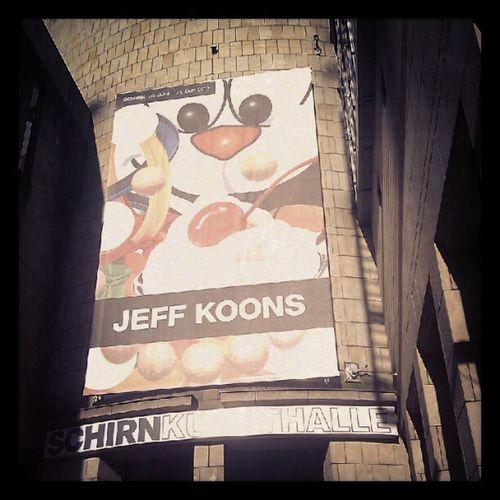 #jeff #koons in der #schirn Jeff Koons Schirn