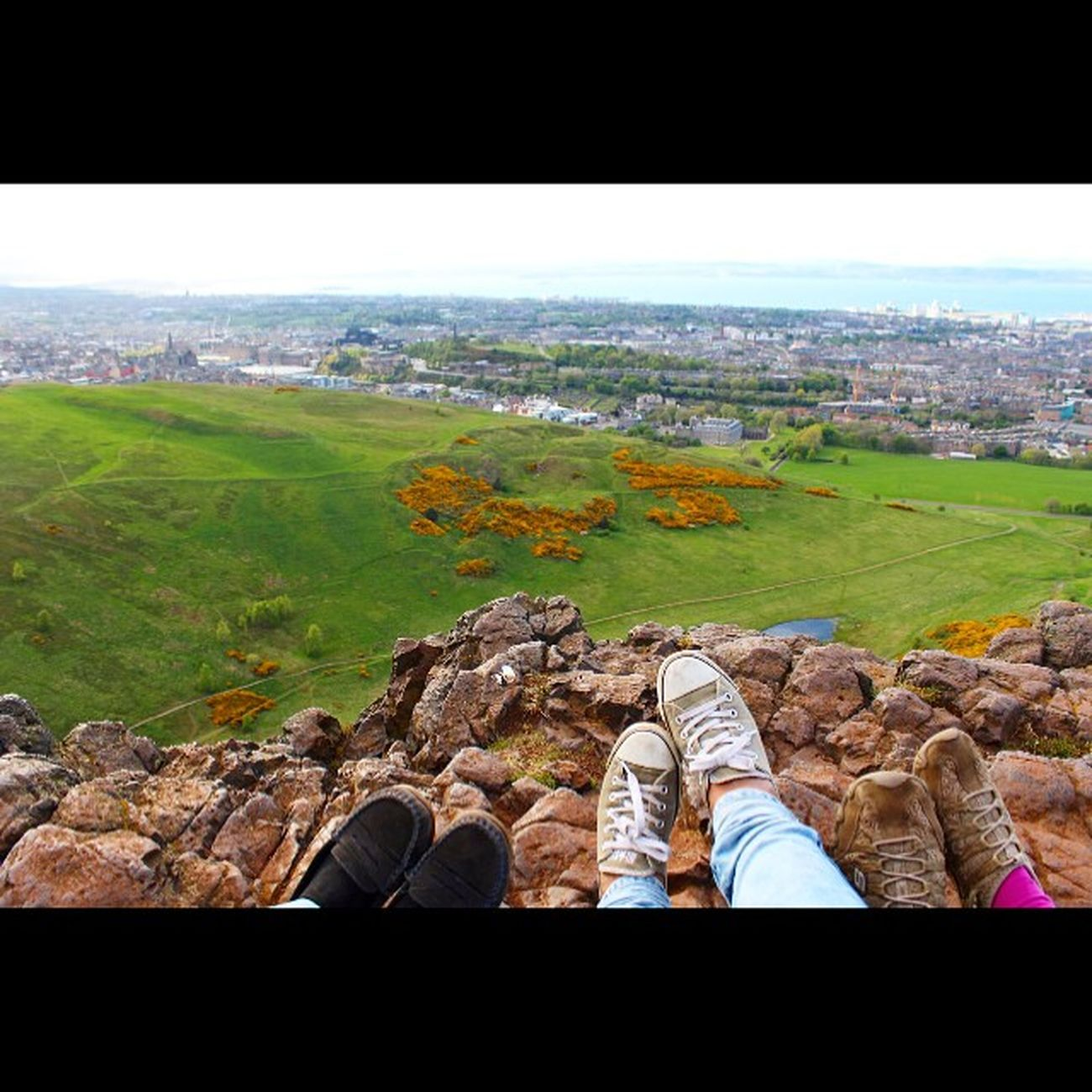 Friends Beautiful Happy Landscape Family Holiday Climb Fromwhereistand Scotland Arthur Edinburgh Mountain Photooftheday Picoftheday Hills Instagood Instadaily Instalike Converses Likesreturned