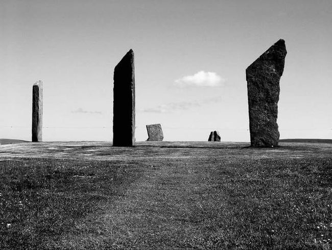 Standing Stones Of Stenness Standing Stones Stenness Neolithic Orkney Neolithic World Heritage Site Unesco World Heritage UNESCO World Heritage Site Orkneyislands Orkney Orkneyisles Lifeasiseeit Johnnelson