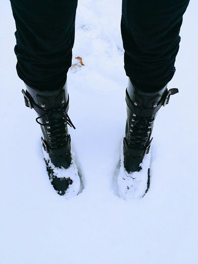 We have snow again :) Snow Snow Day Enjoying Life Winter Wonderland New York Cold Days Playing Boots BCBG Snow Boots