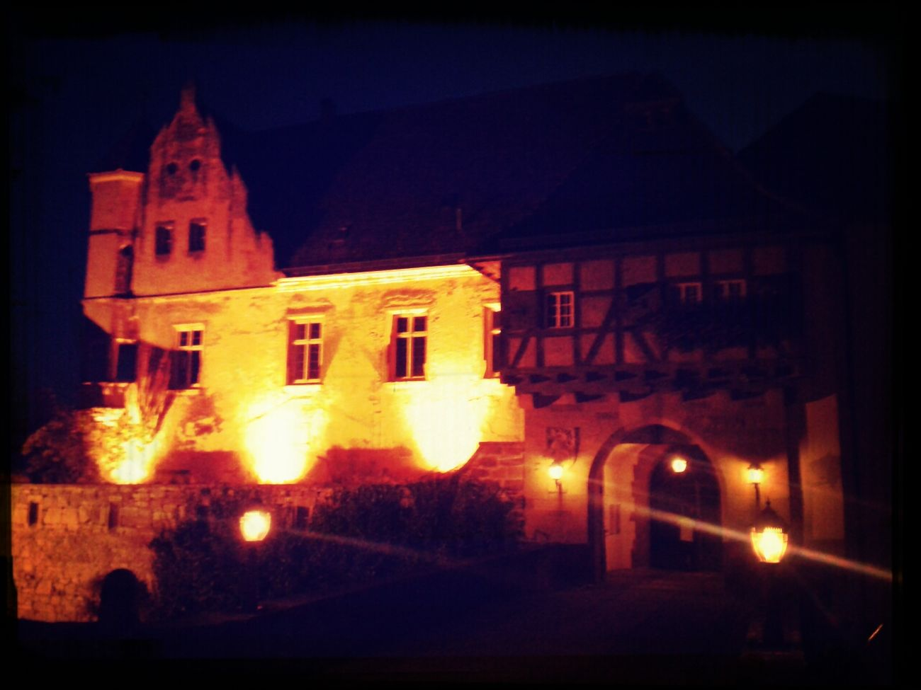 Nochmal die Burg :-D