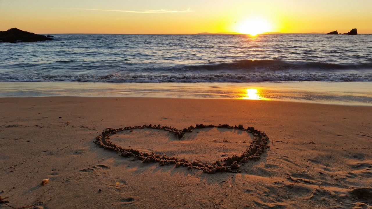 Beach Photography Sunset_collection Heart