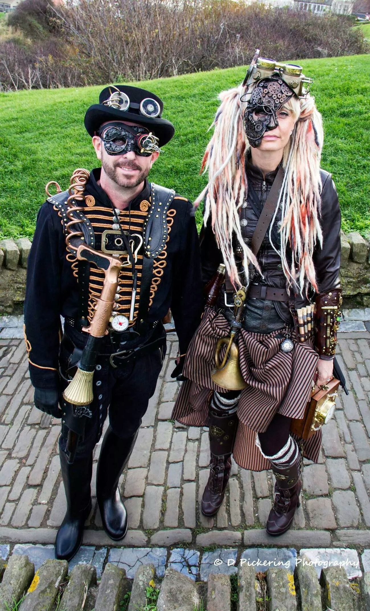 Steampunks Walking Around Street Photography Steampunk Whitby Goth Weekend