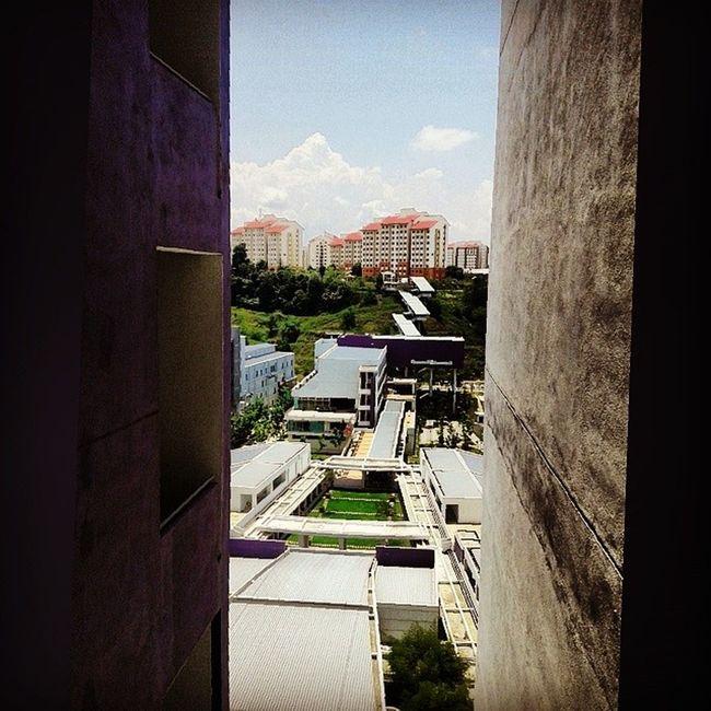 Lovely view from tingkat 10♥ Uitm Puncakalam Palam Uitmpalam