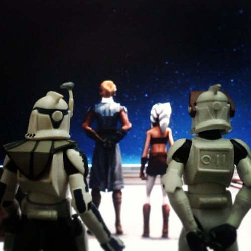 echo : what are they looking at sir? rex : heh..the fault in our stars mate..i mean droids ship Starwars Clonewars Captainrex Echo AnakinSkywalker Toyphotography Toyworlds Toyelites Toyunion Toyslagram Toysplanet Collectibles Toysaremydrugs Jedi Clonetroopers