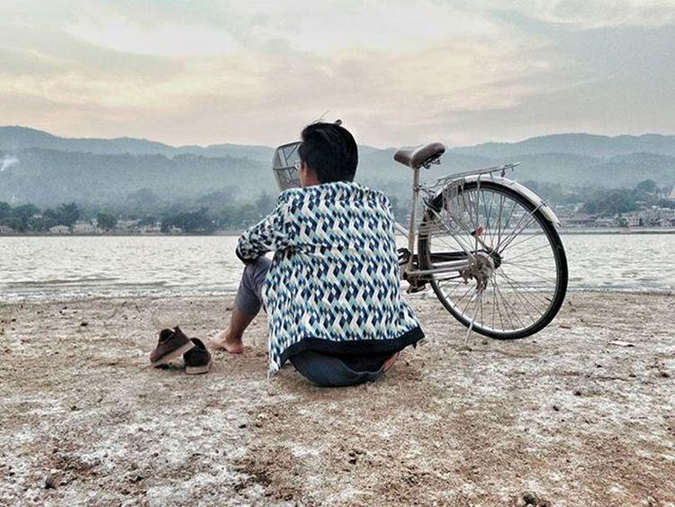 Sadness is inland-beach. 😢😢😢 Globalwarming