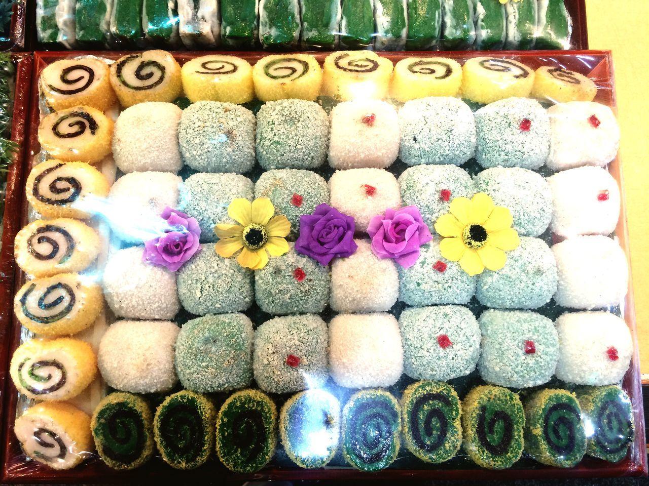 Korean Food Korean Traditional Ricecake Colorful Foodporn