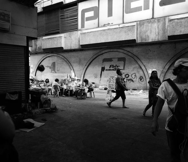Old Manila Streetphotography Huawei P9 Plus Monochrome