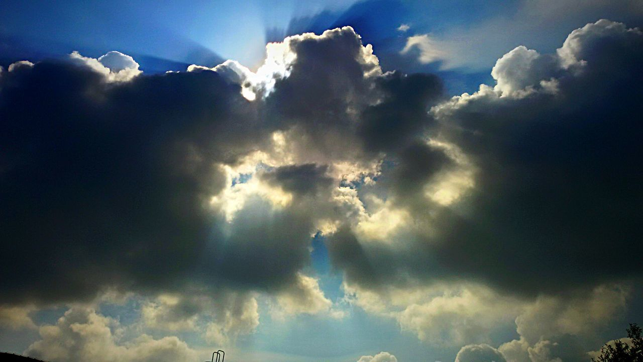cloud - sky, nature, beauty in nature, sky, cloudscape, sky only, scenics, majestic, tranquility, atmospheric mood, heaven, weather, blue, backgrounds, no people, low angle view, outdoors, day, tranquil scene, awe, storm cloud