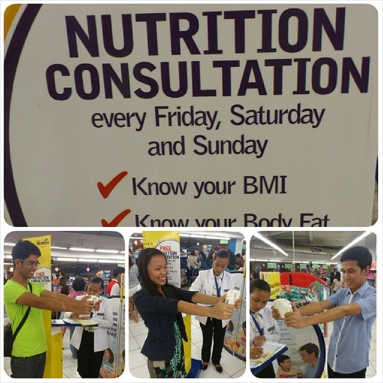 Nutrition Consultation with @paolojuan21 & @shengoii HappySat 2814