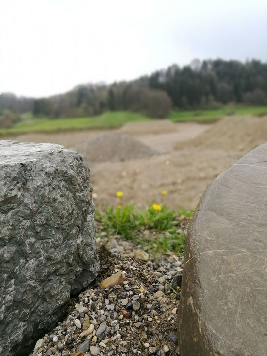 Beauty In Nature Close-up Day Field Focus On Foreground Landscape Nature No People Outdoors Rock - Object Sky Tranquility