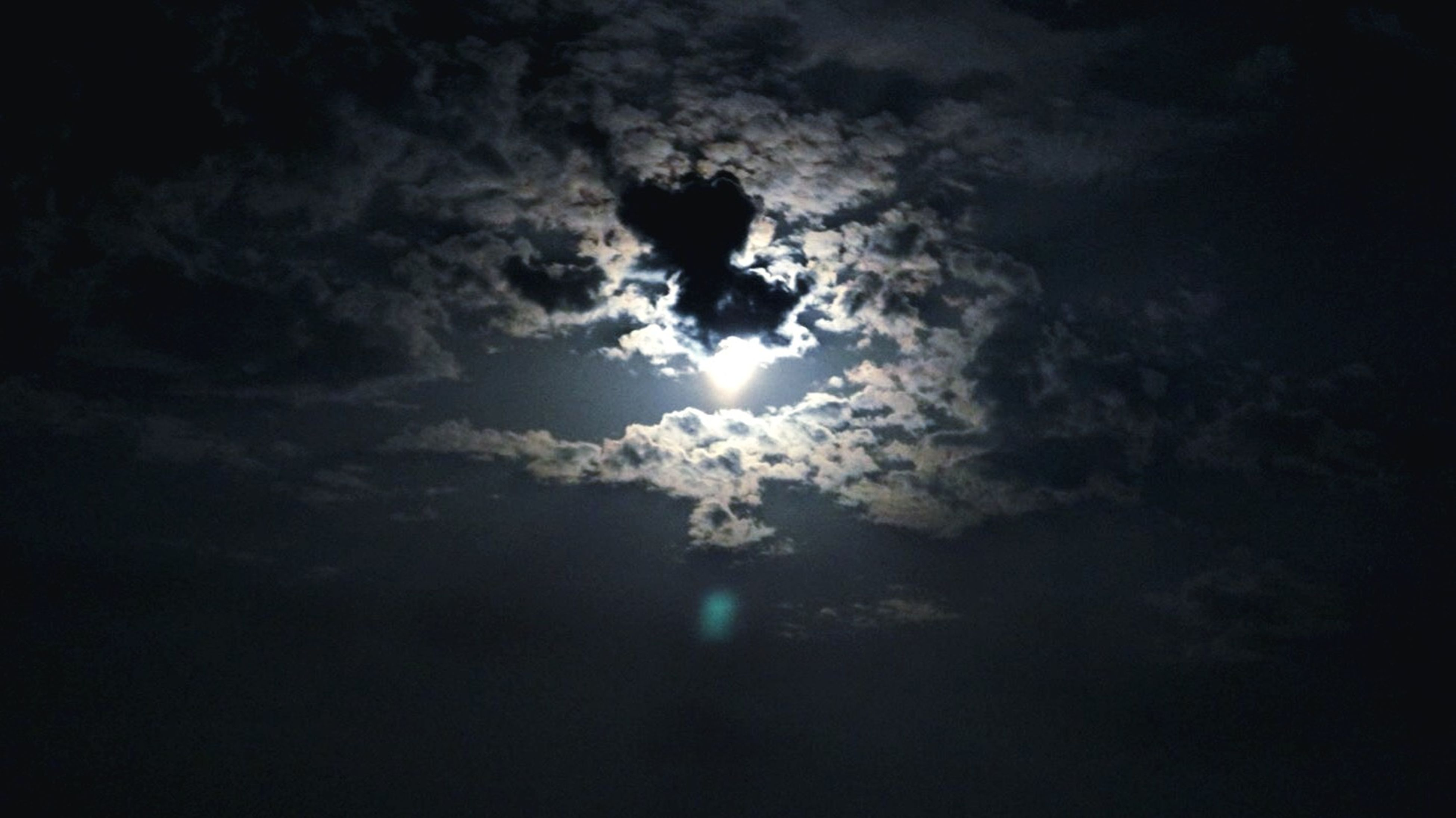 sky, low angle view, beauty in nature, tranquility, scenics, nature, tranquil scene, cloud - sky, night, silhouette, sky only, idyllic, dark, moon, cloudy, majestic, weather, outdoors, cloud, no people
