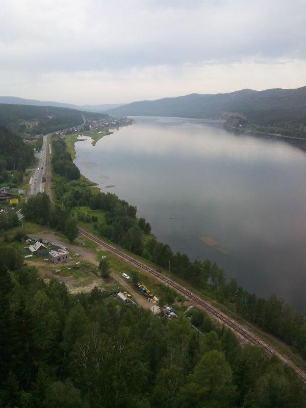 Siberia Yenisei River Landscape River Collection