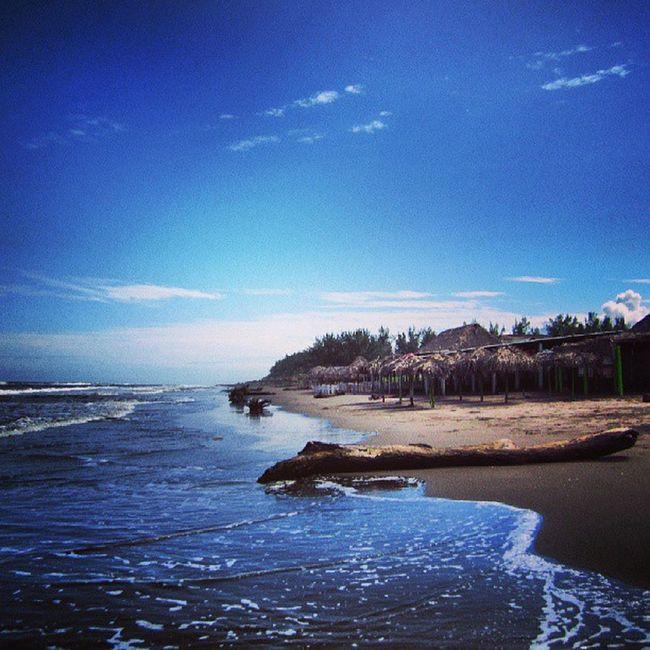 Blue Mexico Veracruz Casitas Playa mar costa esmeralda sea sky