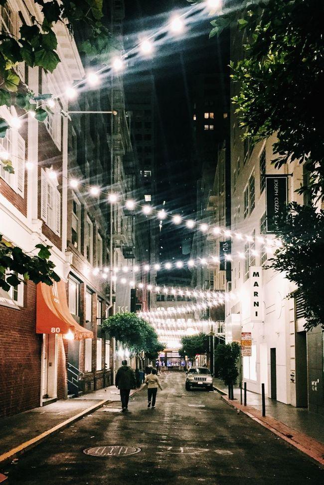 San Francisco Night Nightphotography Night Photography Night Lights Lights Lights In The Dark Couple Streetphotography Street Photography Street