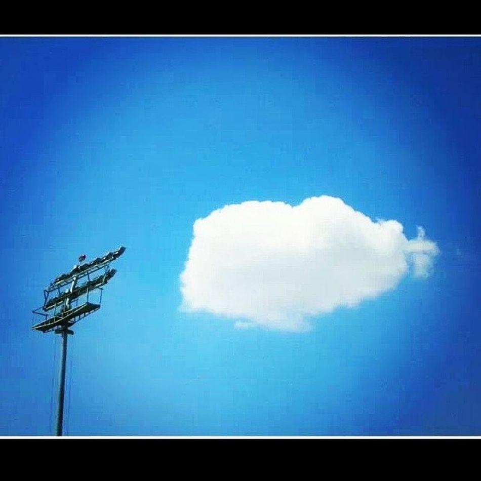 Pcastadium Mohali Chandigarh Heart Clouds