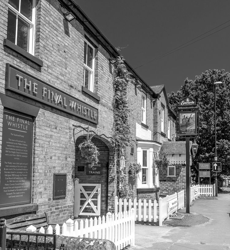 The Final Whistle, Southwell, Nottinghamshire Architecture Pubs Nottingham Pubs Southwell Blackandwhite Black And White Monochrome Photography FUJIFILM X-T2 Nottinghamshire