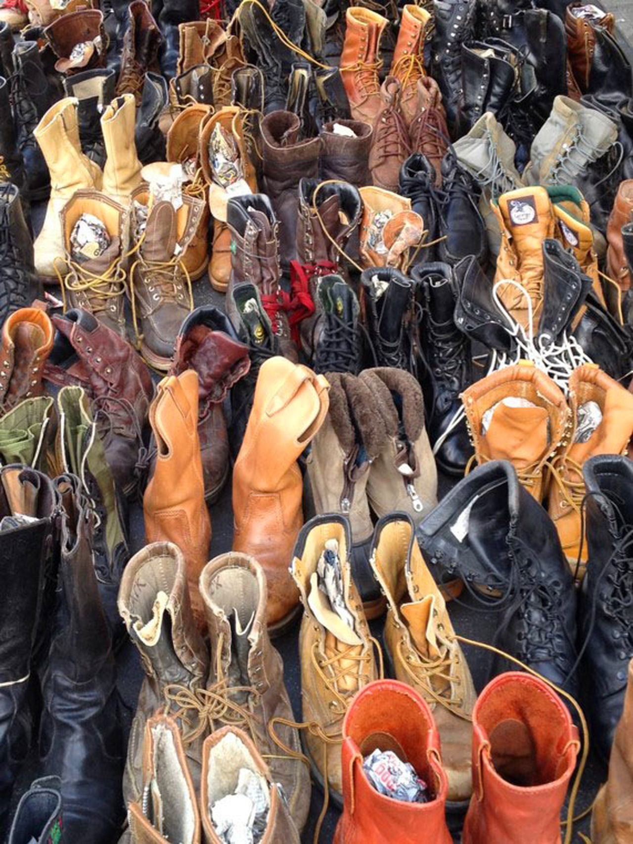 Boots Fashion Large Group Of Objects Mens Boots No People Old Boots Vintage Work Boots
