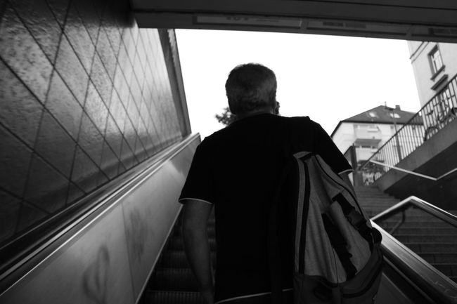 Blackandwhite Casual Clothing City City Life Day Leisure Activity Lifestyles Low Angle View Monochrome Subway The Street Photographer - 2016 EyeEm Awards Cities At Night
