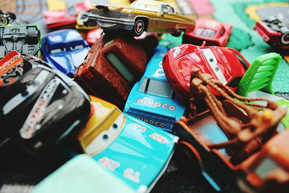 Large Group Of Objects Close-up Cars Disney Pixar  Toys Toyphotography Toy Car Playing Playtime Children