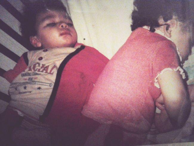 Wen we wer little <3 We look like Twins