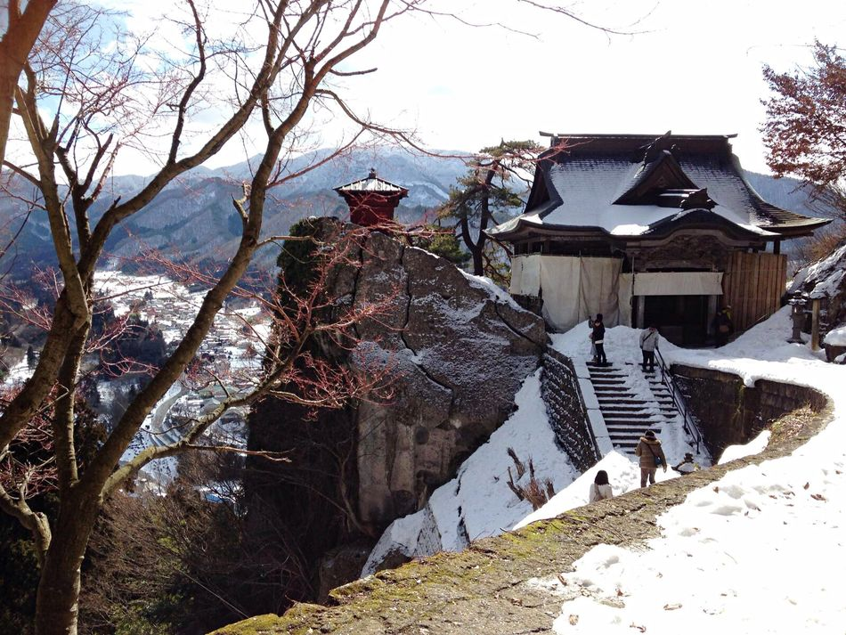 The best Temple whit snow in 🇯🇵 Temple Snow ❄ Fish Sushi Gheisha Vacation Time ♡